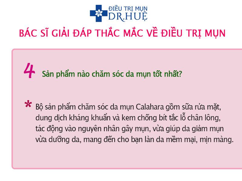 Bác sĩ trả lời thắc mắc về điều trị mụn - Điều trị mụn Dr Huệ - Hình 4