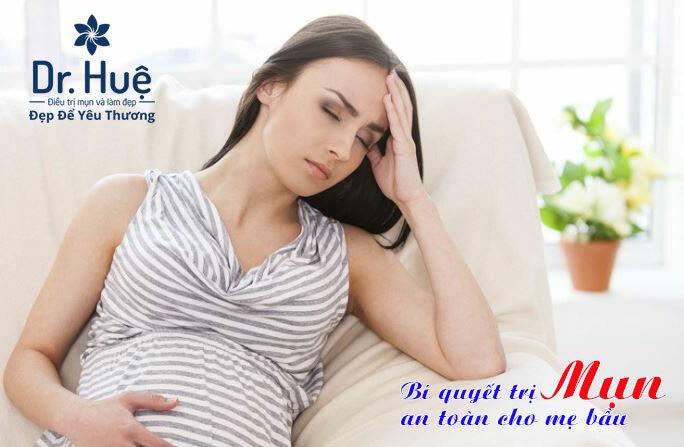 Bí quyết trị mụn an toàn cho mẹ bầu - Điều trị mụn Dr Huệ - Hình 1