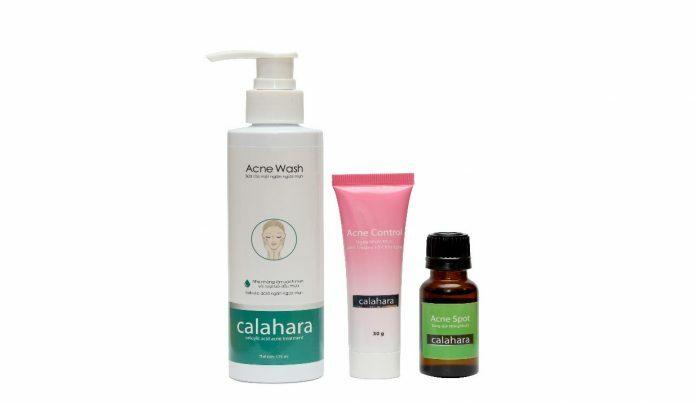 Bộ sản phẩm chuyên dùng cho da mụn, ngừa sẹo thâm Calahara - Điều trị mụn Dr Huệ - Hình 1