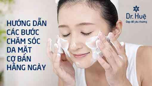 Các bước chăm sóc da mặt hằng ngày cơ bản - Hình 1