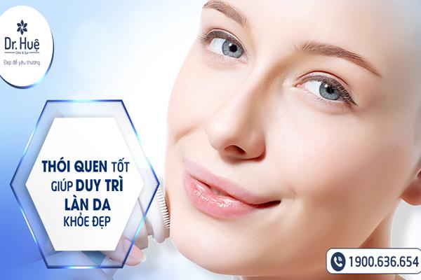 Vệ sinh da mặt là bước quan trọng để phục hồi màng da nhiễm corticoic