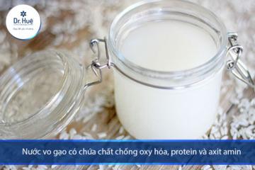 Cách giải quyết vấn đề mụn trứng cá bằng nước vo gạo và nha đam