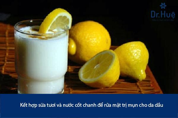 Cách Rửa Mặt Bằng Sữa Tươi Không Đường Trị Mụn Hiệu Quả - Hình 4