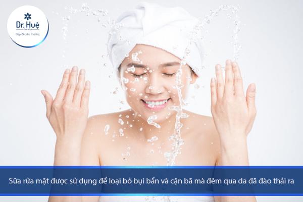Cách sử dụng nước hoa hồng và kem dưỡng da - Điều trị mụn Dr Huệ - Hình 1