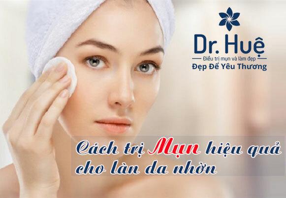 Cách trị mụn hiệu quả cho làn da nhờn - Điều trị mụn Dr Huệ - Hình 1