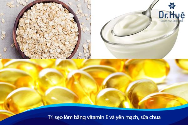 Cách Trị Sẹo Lõm Rỗ Lâu Năm Bằng Vitamin E - Hình 3