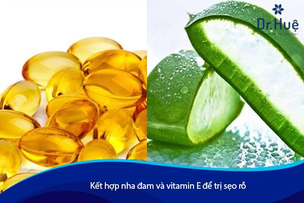 Cách Trị Sẹo Lõm Rỗ Lâu Năm Bằng Vitamin E - Hình 1