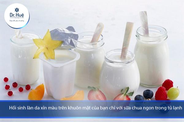 Đắp sữa chua không đường thường xuyên hàng ngày có tốt không - Điều trị mụn Dr Huệ - Hình 1