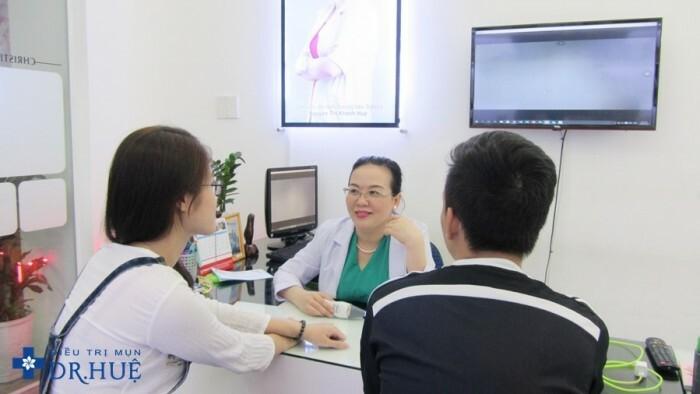 Điều trị mụn giảm giá tại trung tâm Dr Huệ - Hình 4