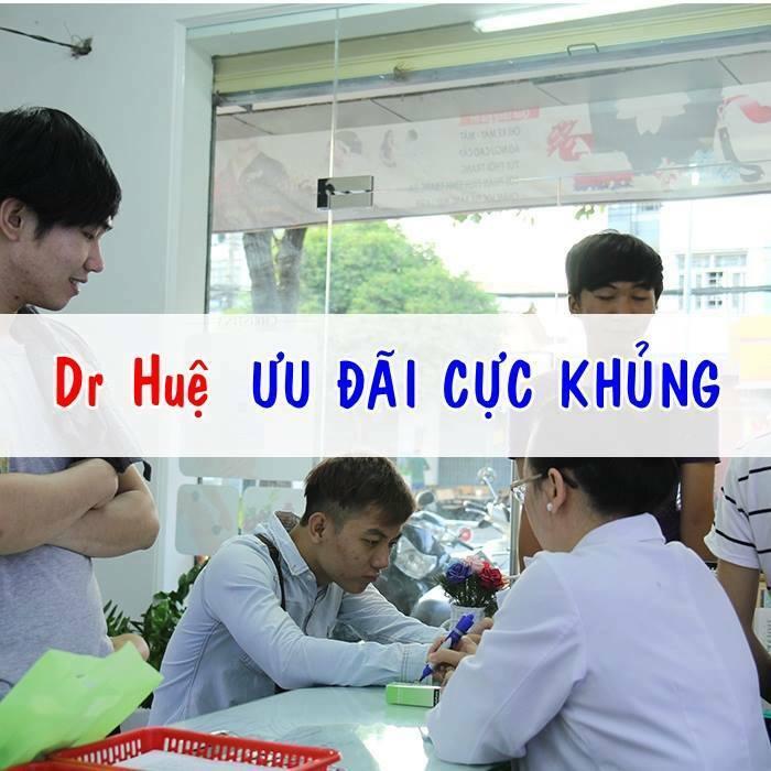 Điều trị mụn giảm giá tại trung tâm Dr Huệ