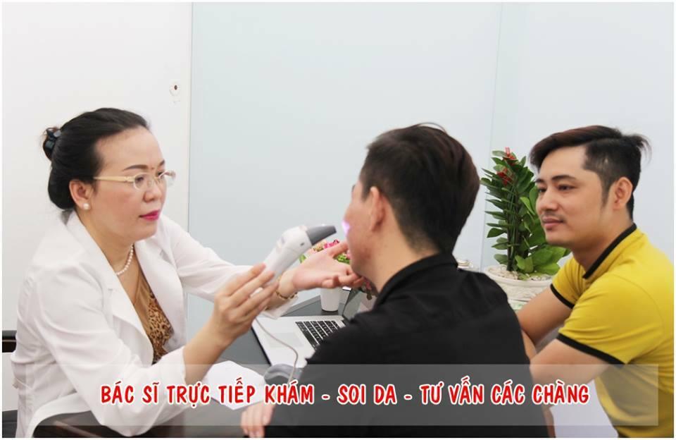 Điều trị sẹo lõm cho nam giới tại đâu? - Điều trị mụn Dr Huệ - Hình 6