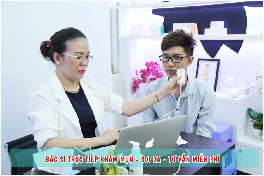 Giá điều trị sẹo lõm bằng kim lăn không quá đắc đỏ như bạn nghĩ - Điều trị mụn Dr Huệ - Hình 4