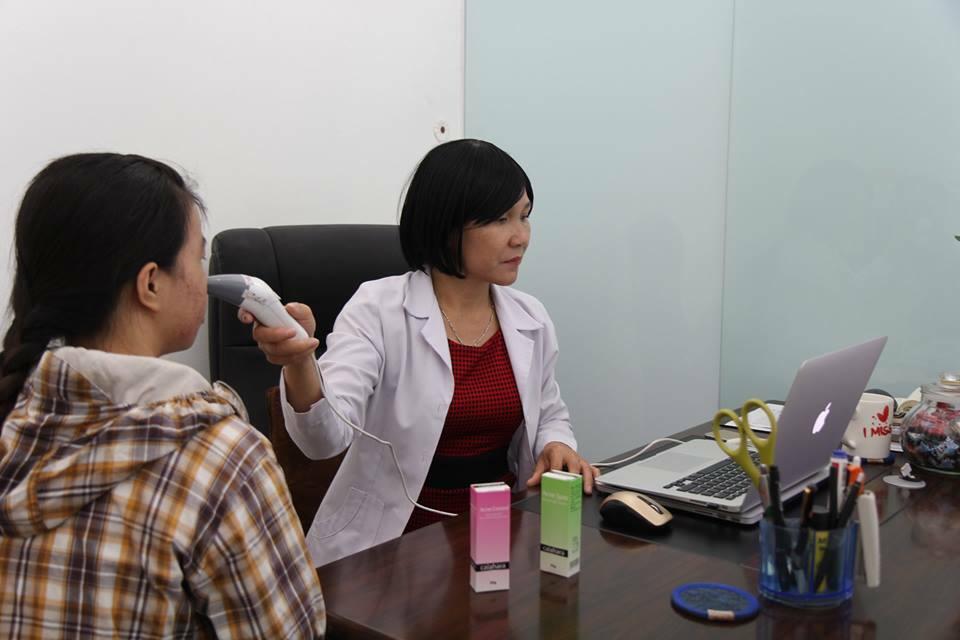 Giá điều trị sẹo lõm bằng kim lăn tại Dr Huệ là bao nhiêu? - Điều trị mụn Dr Huệ - Hình 6