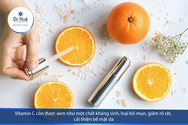 [Giải Đáp] Tác dụng của vitamin C đối với da mụn - Điều trị mụn Dr Huệ - Hình 2