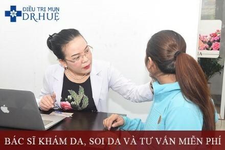 Hết Tết Mụn Lại Ầm Ầm Đến Thăm - Điều trị mụn Dr Huệ - Hình 3