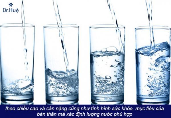 Hướng dẫn uống nước đúng cách để có làn da đẹp - Điều trị mụn Dr Huệ - Hình 2