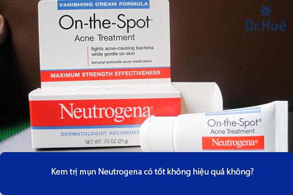 Kem Trị Mụn Neutrogena Có Tốt Không Hiệu Quả Không - Hình 1