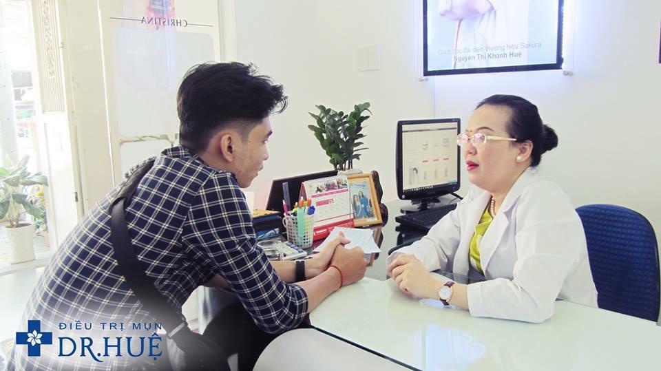 Làm đẹp đón Tết: Điện di mịn da ngay hôm nay - Điều trị mụn Dr Huệ - Hình 4