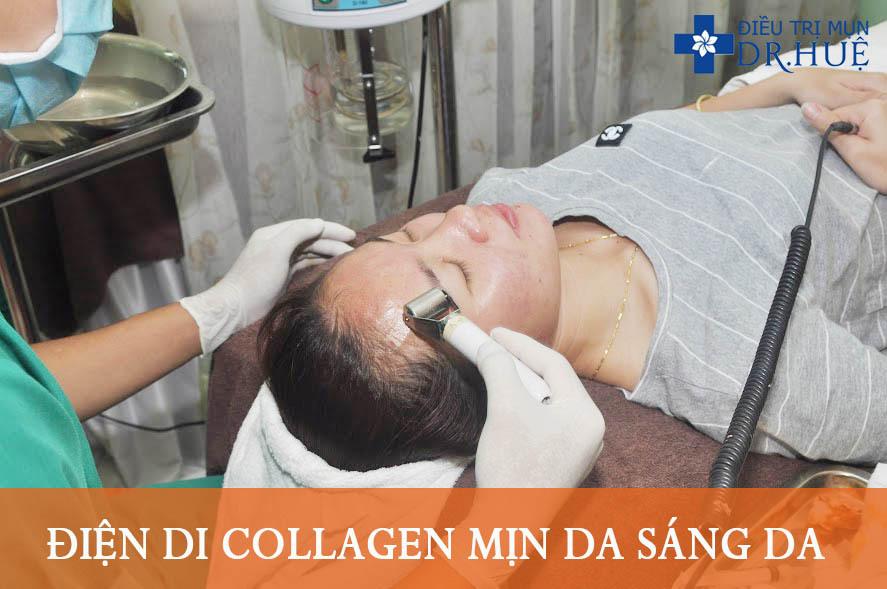 LIỆU TRÌNH ĐẮP MẶT NẠ COLLAGEN TƯƠI - Điều trị mụn Dr Huệ - Hình 3