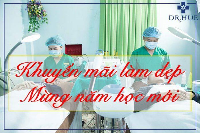 Mùa tựu trường - Khuyến mãi lớn cho học sinh sinh viên - Điều trị mụn Dr Huệ - Hình 1