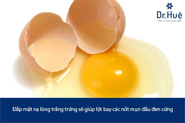 Những Cách Trị Mụn Đầu Đen Bằng Lòng Trắng Trứng Gà Đơn Giản Tại Nhà - Hình 1