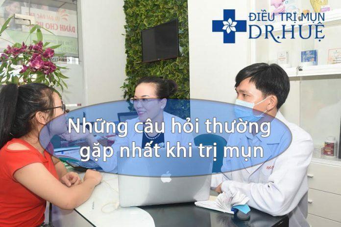 Những câu hỏi thường gặp nhất khi trị mụn - Điều trị mụn Dr Huệ - Hình 1