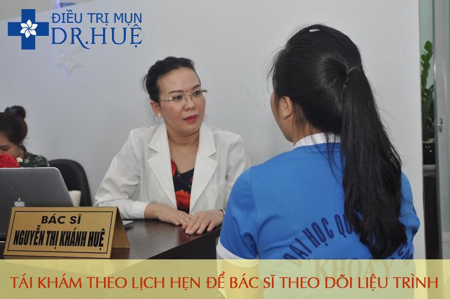 Những điều phải làm sau khi lăn kim - Điều trị mụn Dr Huệ - Hình 4