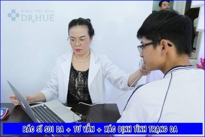 Nơi điều trị mụn hiệu quả nhất tại Tp.Hcm - Trung tâm trị mụn Dr Huệ - Hình 1