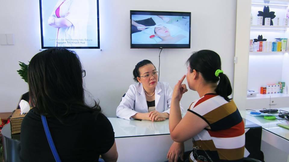 Nơi điều trị sẹo rỗ uy tín hiệu quả nhanh chóng tại tphcm - Điều trị mụn Dr Huệ - Hình 4