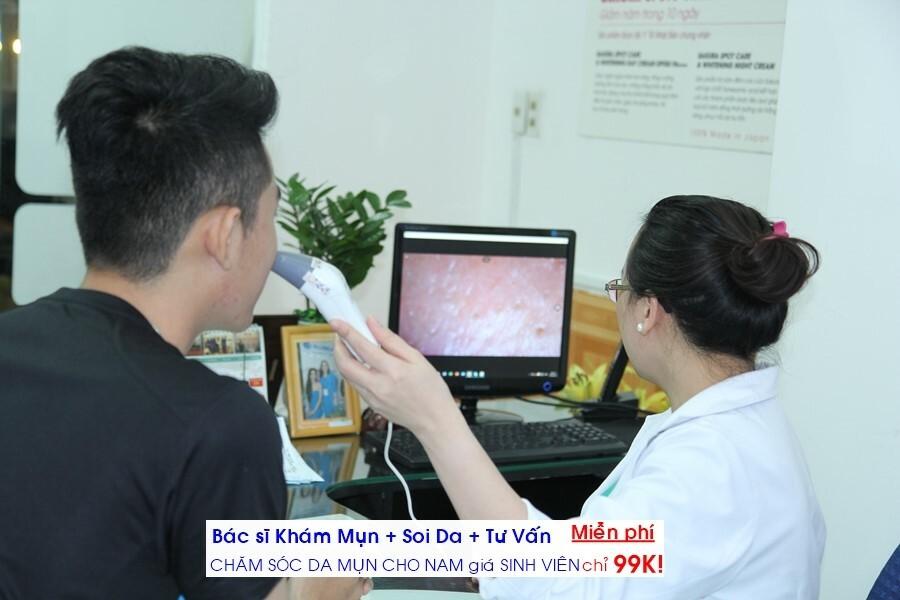 Phương pháp điều trị mụn hiệu quả nhất cho nam - Điều trị mụn Dr Huệ - Hình 9