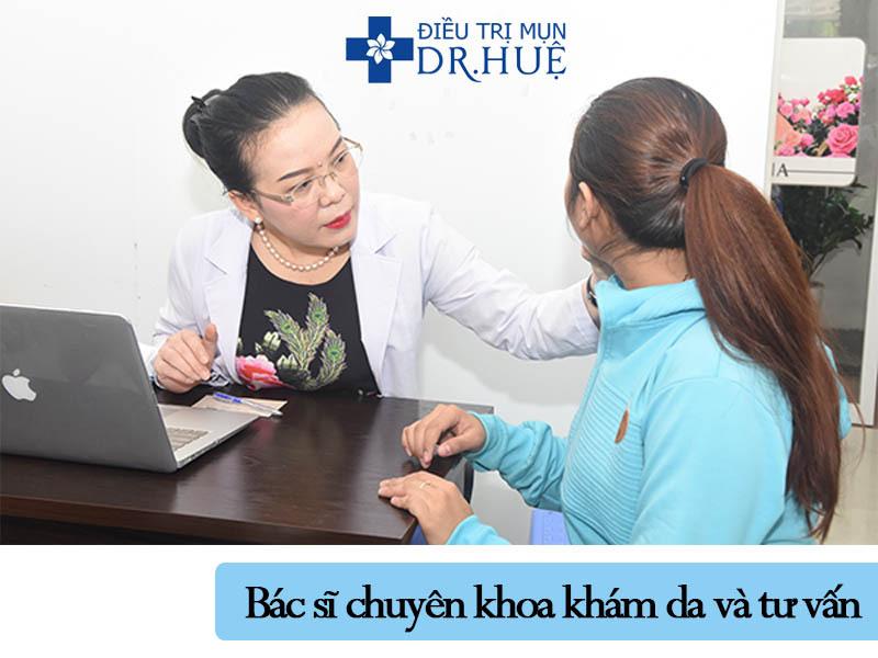 Quy trình điều trị mụn và sẹo rỗ an toàn hiệu quả - Điều trị mụn Dr Huệ - Hình 2