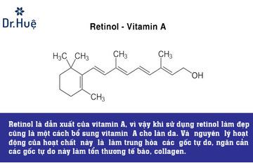 Retinol là chất gì có công dụng gì trong làm đẹp - trị mụn - cách dùng đúng cách