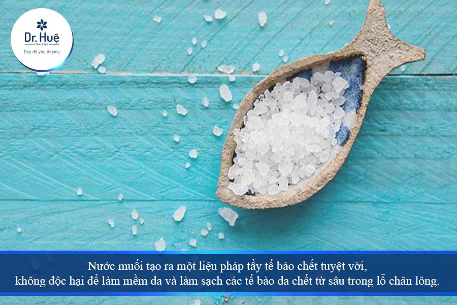 Tác dụng của nước muối sinh lý