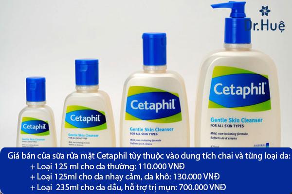 Sữa Rửa Mặt Cetaphil Trị Mụn Có Tốt Không, Giá Bao Nhiêu Tiền - Hình 4