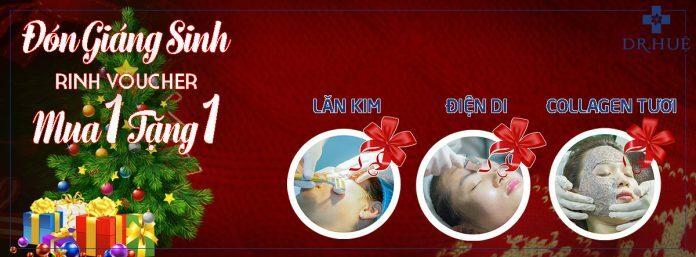 Tháng 12 Tưng bừng khuyến mãi tại Điều trị mụn Dr.Huệ - Điều trị mụn Dr Huệ - Hình 1
