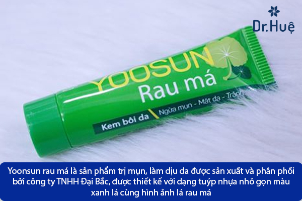 Thuốc Trị Mụn Yoosun Rau Má Có Trị Mụn Được Không Hiệu Quả Không - Hình 2