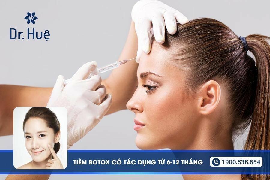 Tiêm Botox có tác dụng trong bao lâu