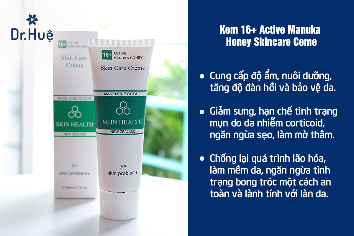 Kem dưỡng phục hồi tái tạo da 16+ Active Manuka Honey Skincare Ceme