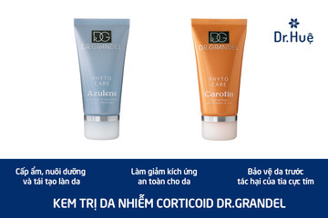 [TOP 4] Các loại kem điều trị da nhiễm corticoid