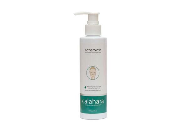 Sữa rửa mặt cho da dầu mụn lỗ chân lông to Calahara