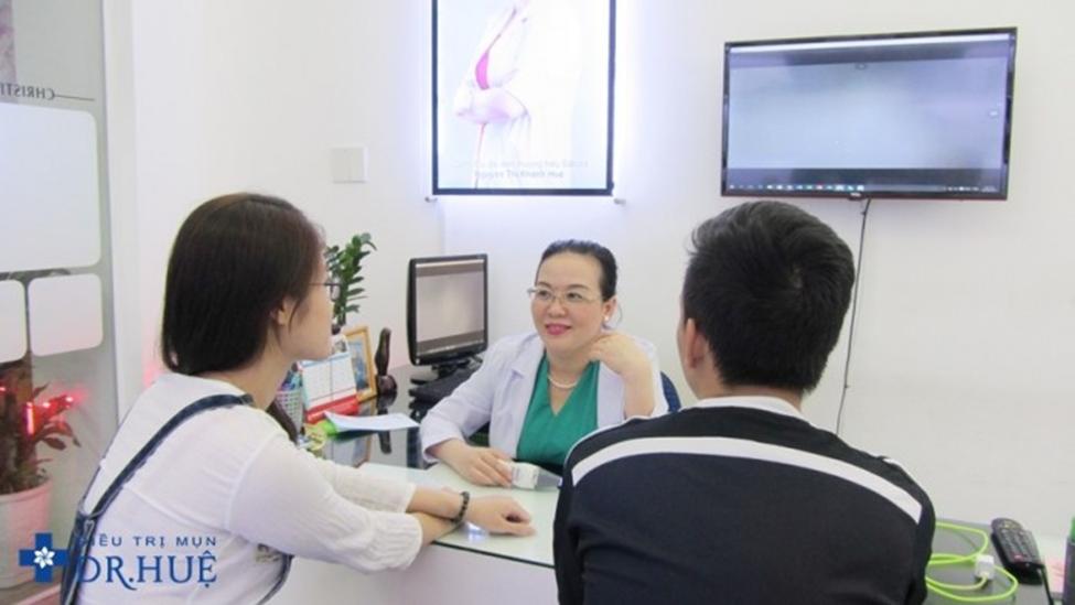 Trung tâm Điều trị mụn bọc tận gốc ở TP. HCM - Điều trị mụn Dr Huệ - Hình 4