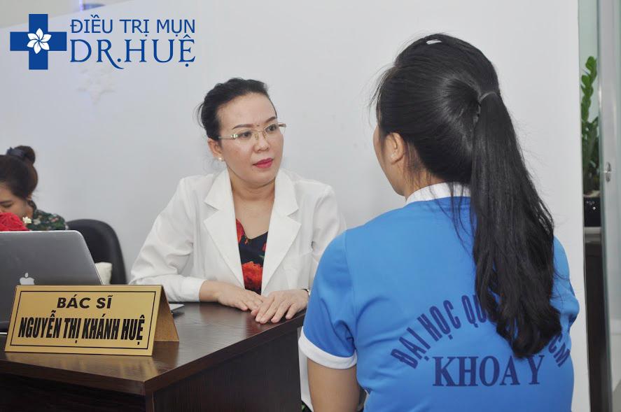Trung tâm trị mụn Dr.Huệ - Bác sĩ của sinh viên - Điều trị mụn Dr Huệ - Hình 2