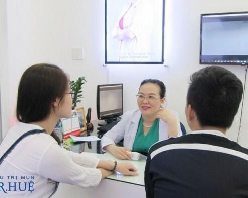Truy tìm địa điểm điều trị mụn hiệu quả nhất Tp.HCM - Điều trị mụn Dr Huệ - Hình 4