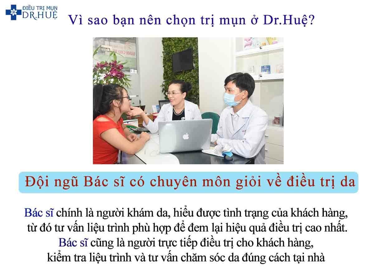Vì sao bạn nên chọn trị mụn ở Dr.Huệ? - Điều trị mụn Dr Huệ - Hình 2