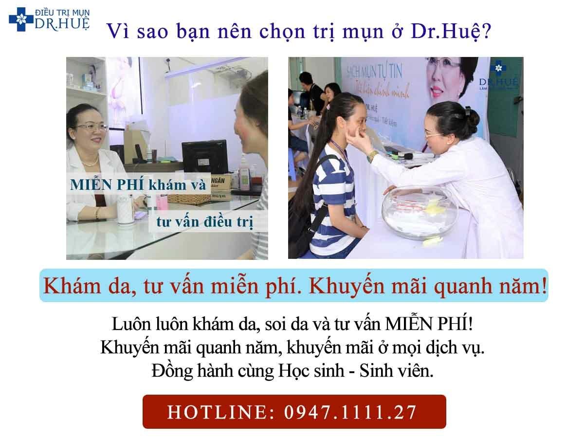 Vì sao bạn nên chọn trị mụn ở Dr.Huệ? - Điều trị mụn Dr Huệ - Hình 4