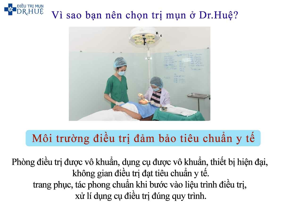 Vì sao bạn nên chọn trị mụn ở Dr.Huệ? - Điều trị mụn Dr Huệ - Hình 3