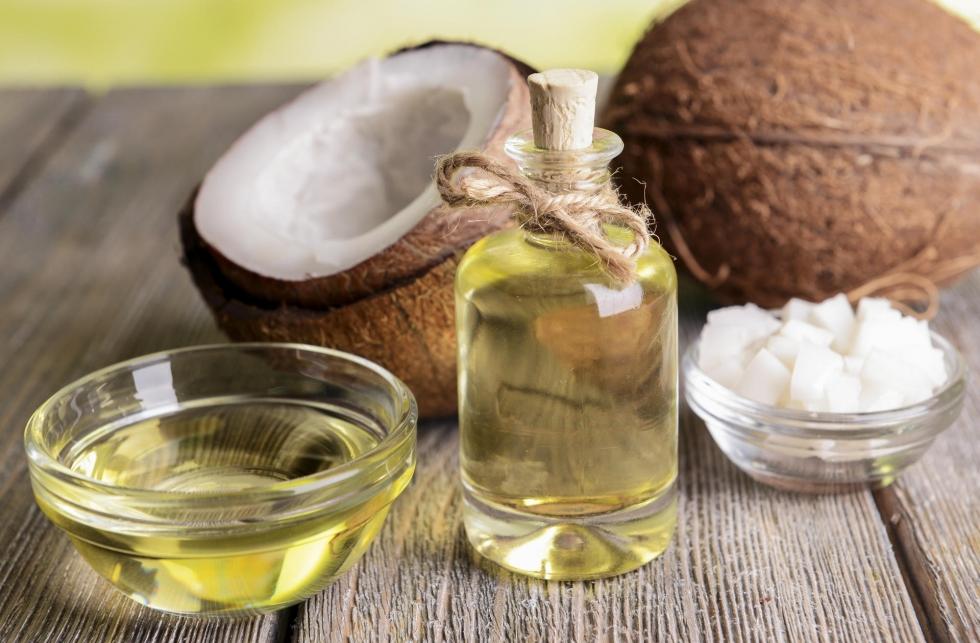 điều trị sẹo rỗ bằng dầu dừa