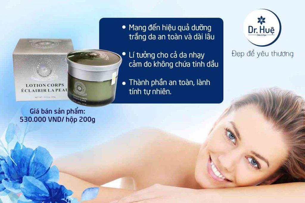 Kem dưỡng trắng da toàn thân Revitalite Body Lotion Whitening Skin